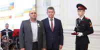 """Начальнику пожарной части № 11  ГКУ """"Волгоспас"""" вручили государственную награду…"""