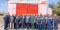 """Очередные сборы ГПС ГКУ """"Волгоспас"""" прошли в Володарском районе."""