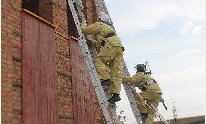 соревнования пожарных волгоспас